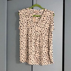 Loft XL petite sleeveless blouse